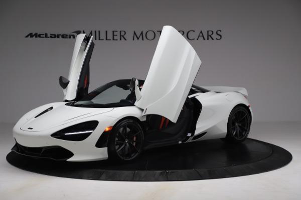 New 2021 McLaren 720S Spider for sale $366,670 at Bentley Greenwich in Greenwich CT 06830 12