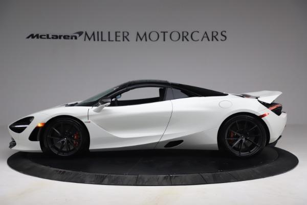 New 2021 McLaren 720S Spider for sale $366,670 at Bentley Greenwich in Greenwich CT 06830 14