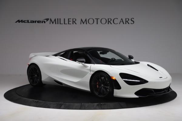 New 2021 McLaren 720S Spider for sale $366,670 at Bentley Greenwich in Greenwich CT 06830 19