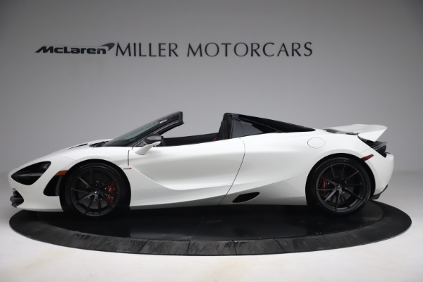 New 2021 McLaren 720S Spider for sale $366,670 at Bentley Greenwich in Greenwich CT 06830 2