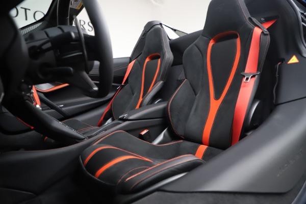New 2021 McLaren 720S Spider for sale $366,670 at Bentley Greenwich in Greenwich CT 06830 24