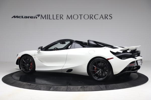 New 2021 McLaren 720S Spider for sale $366,670 at Bentley Greenwich in Greenwich CT 06830 3
