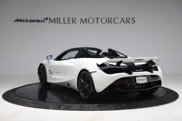 New 2021 McLaren 720S Spider for sale $366,670 at Bentley Greenwich in Greenwich CT 06830 4