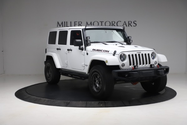Used 2015 Jeep Wrangler Unlimited Rubicon Hard Rock for sale $39,900 at Bentley Greenwich in Greenwich CT 06830 11