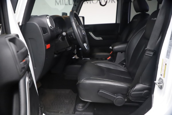 Used 2015 Jeep Wrangler Unlimited Rubicon Hard Rock for sale $39,900 at Bentley Greenwich in Greenwich CT 06830 15