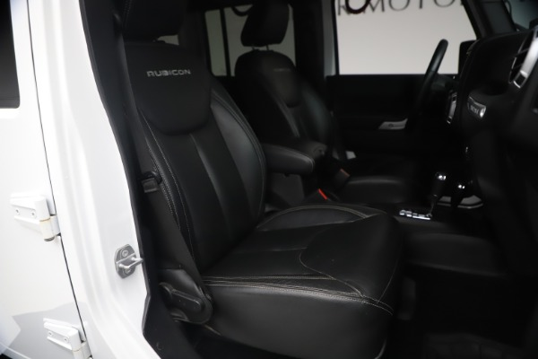 Used 2015 Jeep Wrangler Unlimited Rubicon Hard Rock for sale $39,900 at Bentley Greenwich in Greenwich CT 06830 19