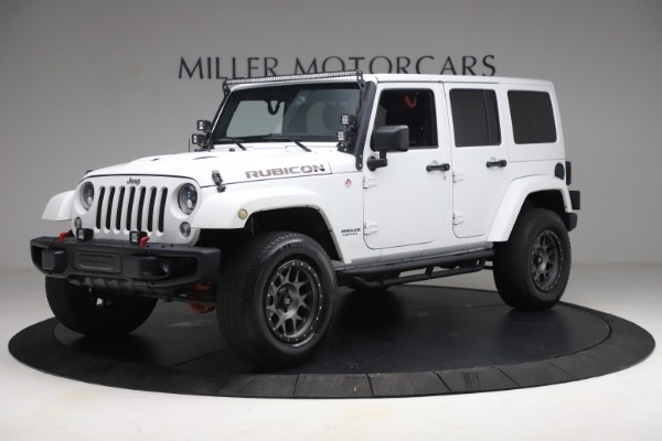 Used 2015 Jeep Wrangler Unlimited Rubicon Hard Rock for sale $39,900 at Bentley Greenwich in Greenwich CT 06830 2