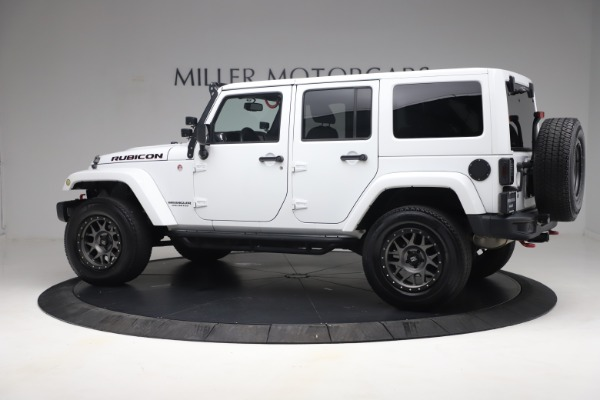 Used 2015 Jeep Wrangler Unlimited Rubicon Hard Rock for sale $39,900 at Bentley Greenwich in Greenwich CT 06830 4