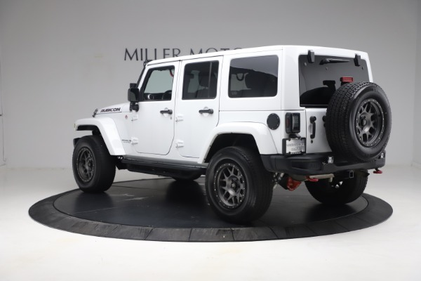 Used 2015 Jeep Wrangler Unlimited Rubicon Hard Rock for sale $39,900 at Bentley Greenwich in Greenwich CT 06830 5