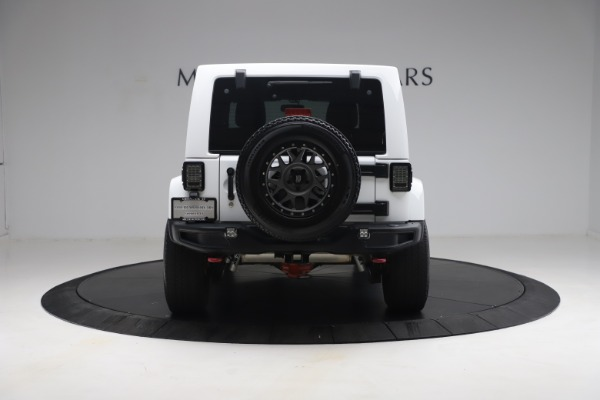 Used 2015 Jeep Wrangler Unlimited Rubicon Hard Rock for sale $39,900 at Bentley Greenwich in Greenwich CT 06830 6