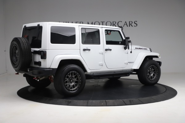 Used 2015 Jeep Wrangler Unlimited Rubicon Hard Rock for sale $39,900 at Bentley Greenwich in Greenwich CT 06830 8