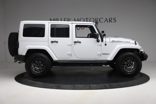 Used 2015 Jeep Wrangler Unlimited Rubicon Hard Rock for sale $39,900 at Bentley Greenwich in Greenwich CT 06830 9