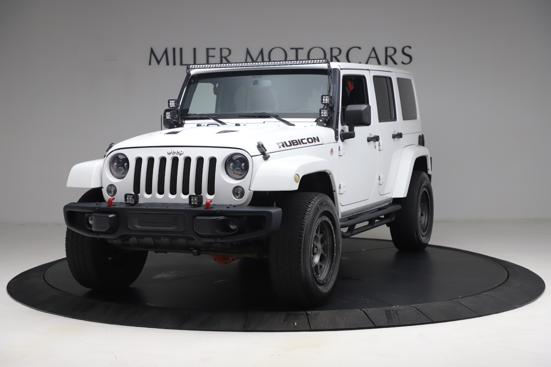 Used 2015 Jeep Wrangler Unlimited Rubicon Hard Rock for sale $39,900 at Bentley Greenwich in Greenwich CT 06830 1