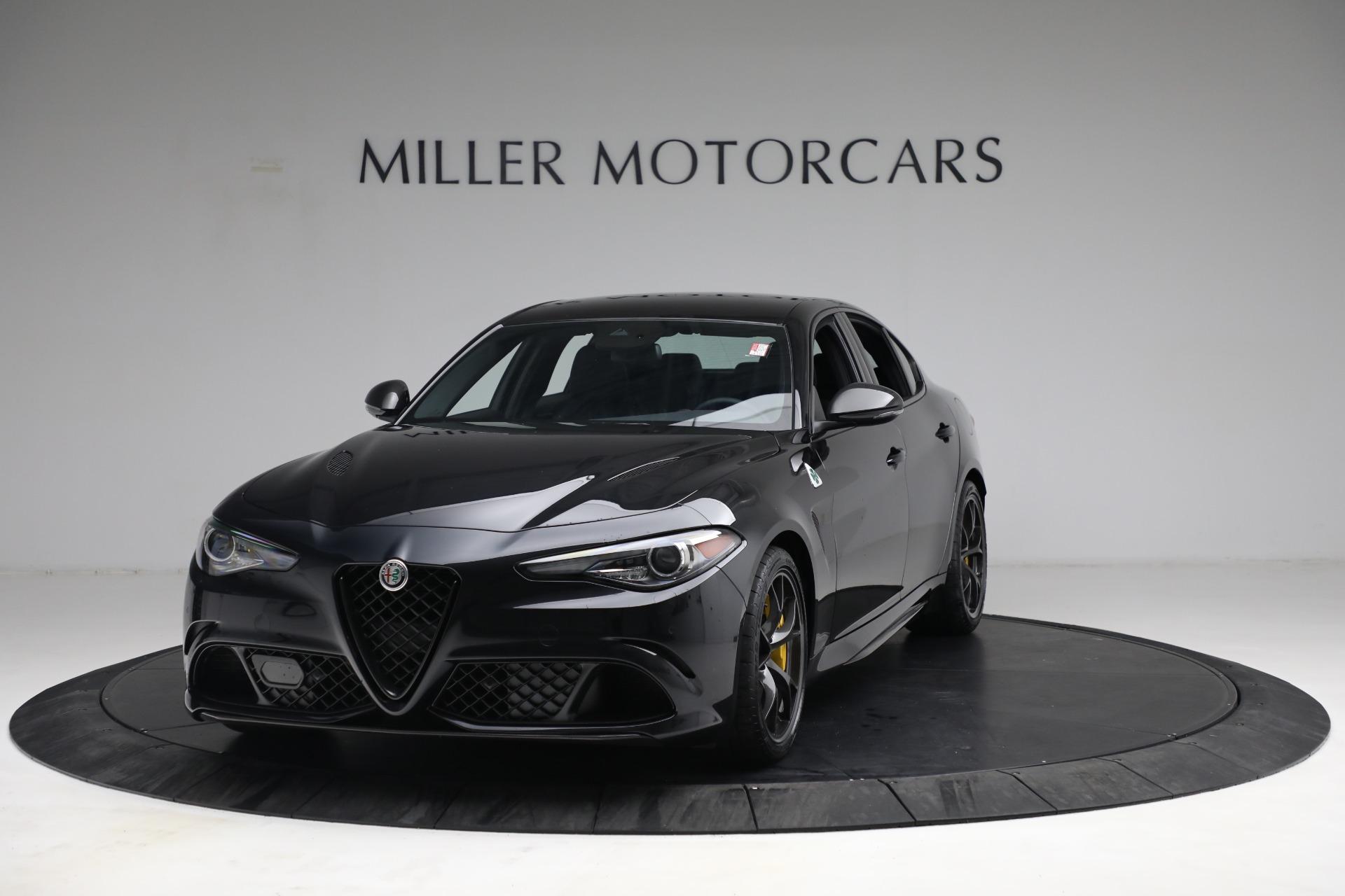 New 2021 Alfa Romeo Giulia Quadrifoglio for sale $81,505 at Bentley Greenwich in Greenwich CT 06830 1