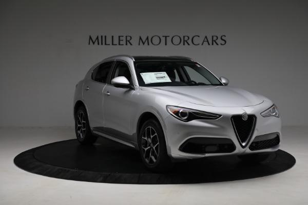 New 2021 Alfa Romeo Stelvio Ti Q4 for sale Sold at Bentley Greenwich in Greenwich CT 06830 11