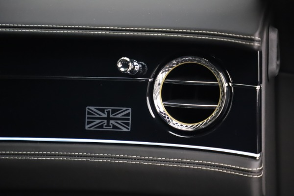 New 2020 Bentley Flying Spur W12 1st Edition for sale $276,070 at Bentley Greenwich in Greenwich CT 06830 24