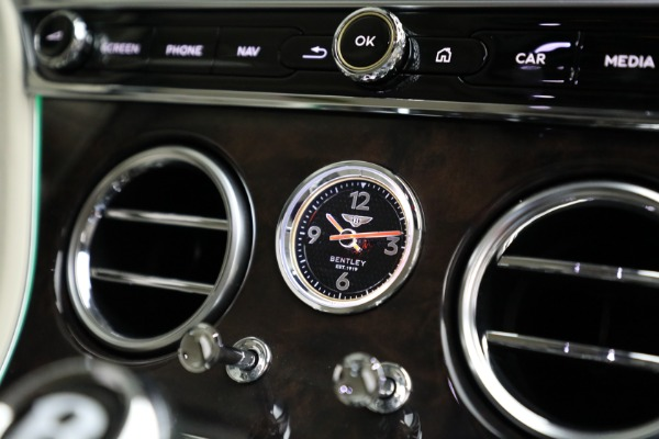 Used 2020 Bentley Continental GT W12 for sale Call for price at Bentley Greenwich in Greenwich CT 06830 27