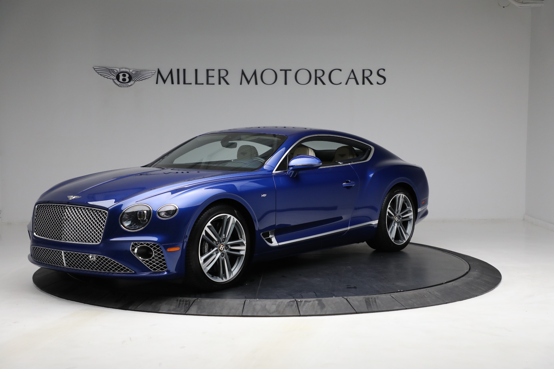 New 2020 Bentley Continental GT V8 for sale $255,080 at Bentley Greenwich in Greenwich CT 06830 1