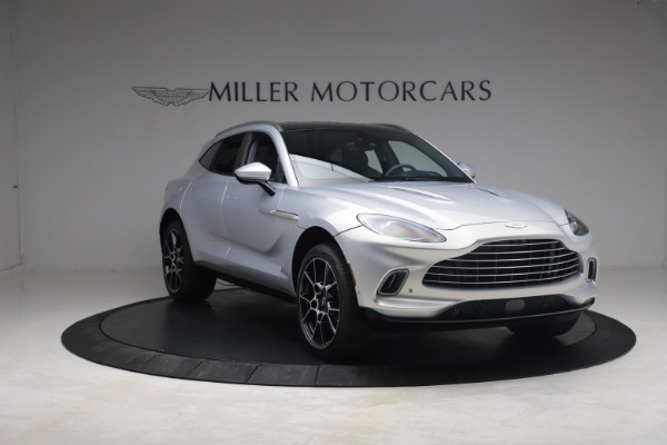 New 2021 Aston Martin DBX for sale $210,786 at Bentley Greenwich in Greenwich CT 06830 10