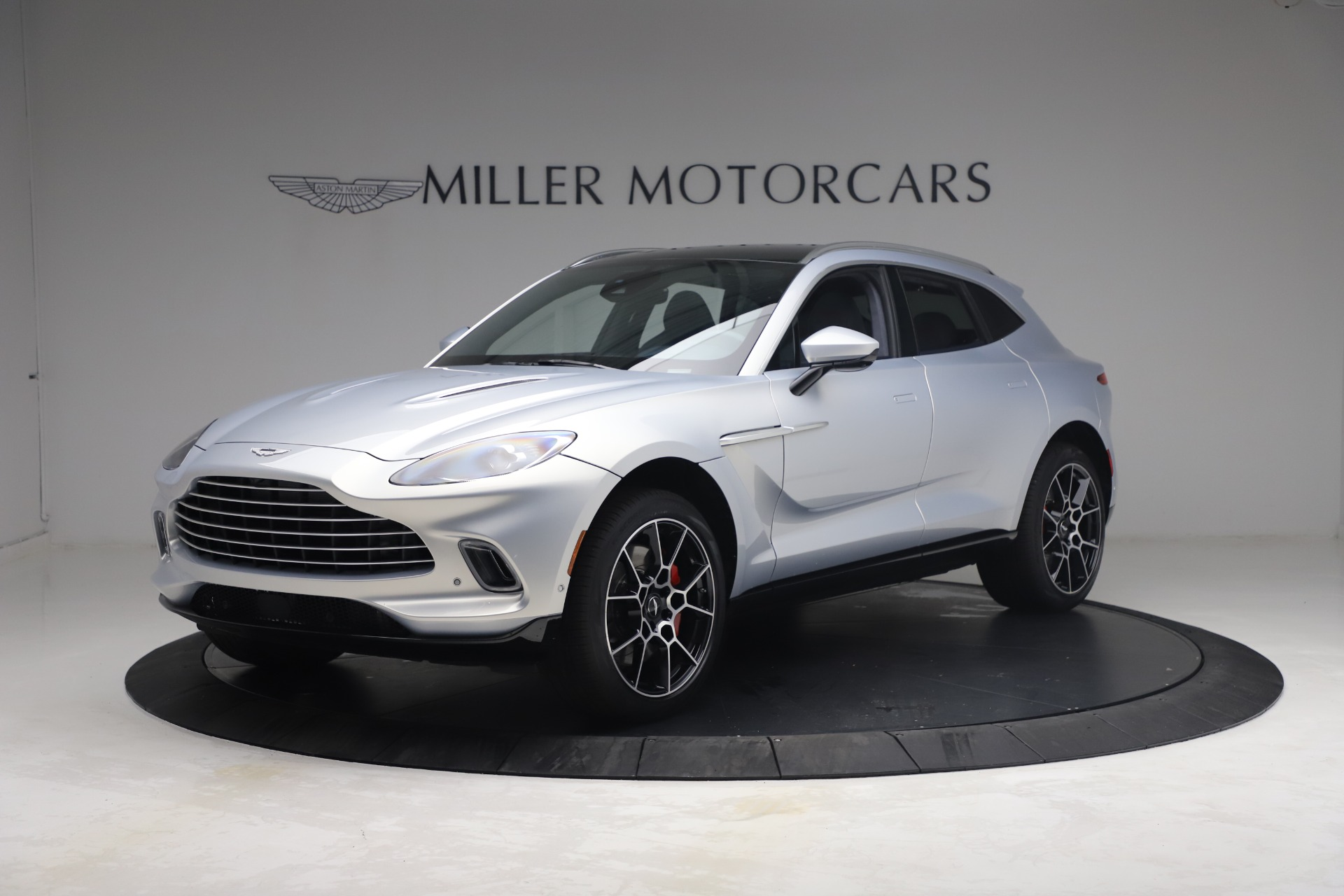 New 2021 Aston Martin DBX for sale $210,786 at Bentley Greenwich in Greenwich CT 06830 1