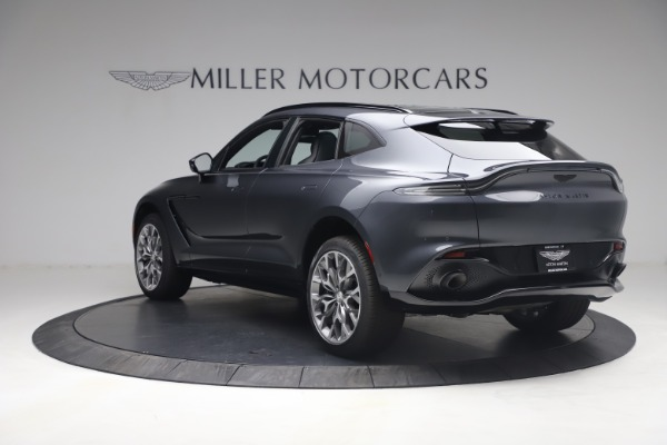New 2021 Aston Martin DBX for sale $208,786 at Bentley Greenwich in Greenwich CT 06830 4