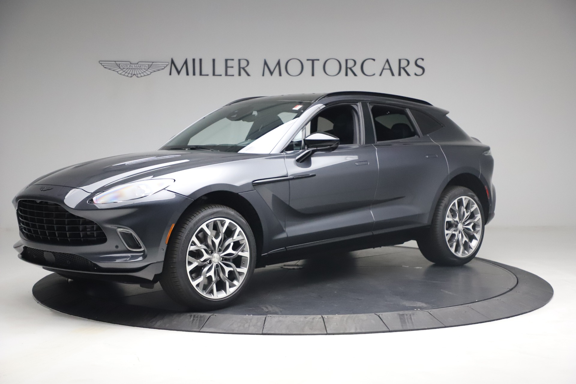 New 2021 Aston Martin DBX for sale $208,786 at Bentley Greenwich in Greenwich CT 06830 1