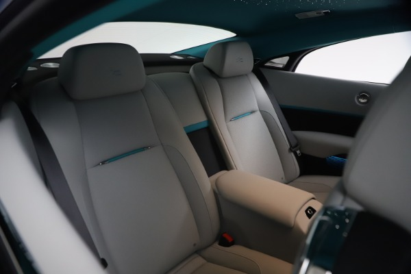 Used 2021 Rolls-Royce Wraith KRYPTOS for sale $444,275 at Bentley Greenwich in Greenwich CT 06830 18
