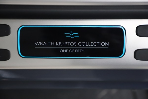 Used 2021 Rolls-Royce Wraith KRYPTOS for sale $444,275 at Bentley Greenwich in Greenwich CT 06830 22