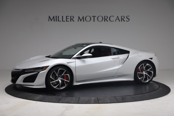 Used 2017 Acura NSX SH-AWD Sport Hybrid for sale $139,900 at Bentley Greenwich in Greenwich CT 06830 2
