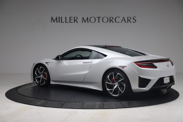 Used 2017 Acura NSX SH-AWD Sport Hybrid for sale $139,900 at Bentley Greenwich in Greenwich CT 06830 4