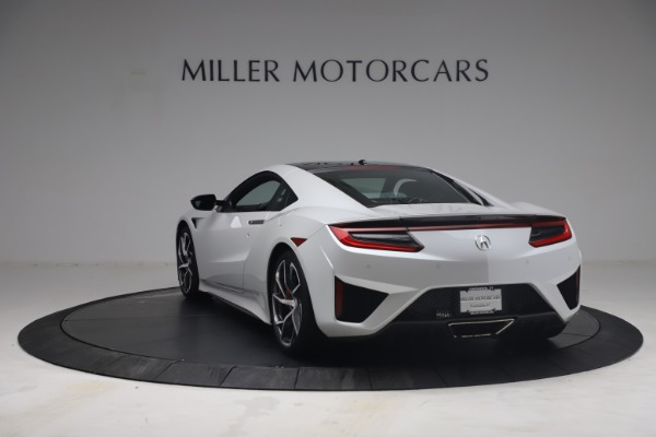 Used 2017 Acura NSX SH-AWD Sport Hybrid for sale $139,900 at Bentley Greenwich in Greenwich CT 06830 5