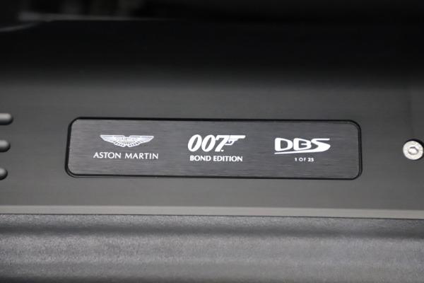 New 2021 Aston Martin DBS Superleggera 007 for sale $391,211 at Bentley Greenwich in Greenwich CT 06830 19