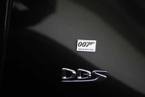 New 2021 Aston Martin DBS Superleggera 007 for sale $391,211 at Bentley Greenwich in Greenwich CT 06830 26