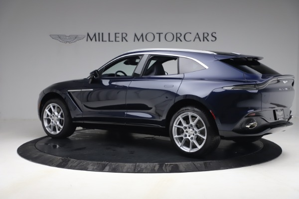 New 2021 Aston Martin DBX for sale $195,786 at Bentley Greenwich in Greenwich CT 06830 3