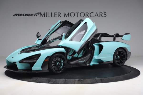 Used 2019 McLaren Senna for sale Sold at Bentley Greenwich in Greenwich CT 06830 15