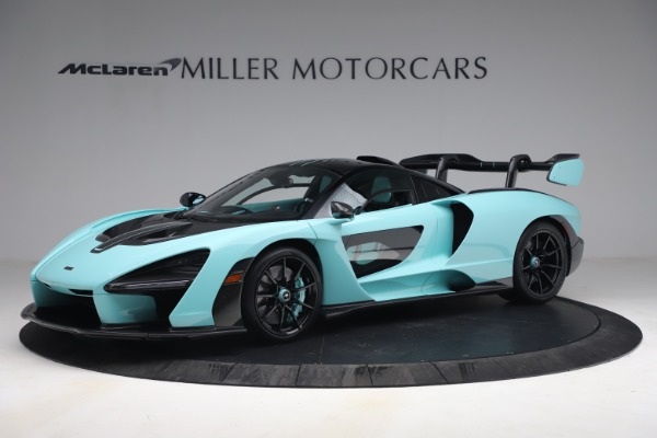 Used 2019 McLaren Senna for sale Sold at Bentley Greenwich in Greenwich CT 06830 2