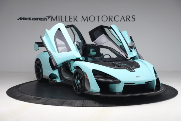 Used 2019 McLaren Senna for sale Sold at Bentley Greenwich in Greenwich CT 06830 24