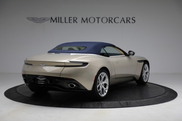 Used 2019 Aston Martin DB11 Volante for sale $209,900 at Bentley Greenwich in Greenwich CT 06830 28