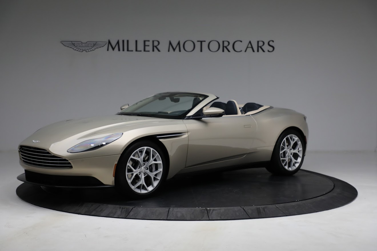 Used 2019 Aston Martin DB11 Volante for sale $209,900 at Bentley Greenwich in Greenwich CT 06830 1