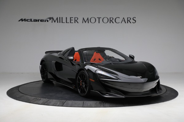 Used 2020 McLaren 600LT Spider for sale Call for price at Bentley Greenwich in Greenwich CT 06830 11