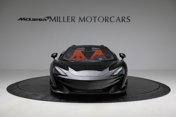 Used 2020 McLaren 600LT Spider for sale Call for price at Bentley Greenwich in Greenwich CT 06830 12