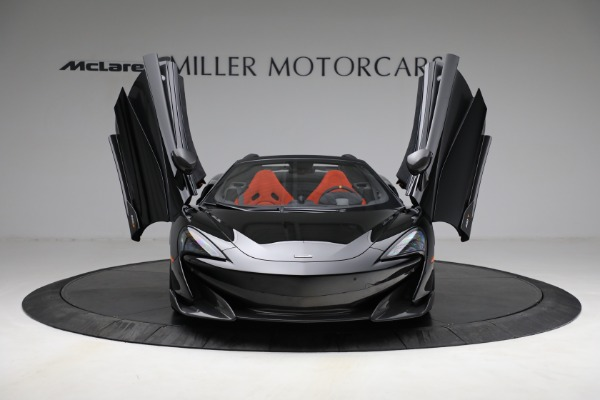 Used 2020 McLaren 600LT Spider for sale Call for price at Bentley Greenwich in Greenwich CT 06830 13