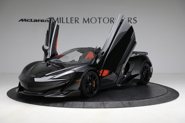Used 2020 McLaren 600LT Spider for sale Call for price at Bentley Greenwich in Greenwich CT 06830 14