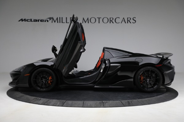 Used 2020 McLaren 600LT Spider for sale Call for price at Bentley Greenwich in Greenwich CT 06830 15