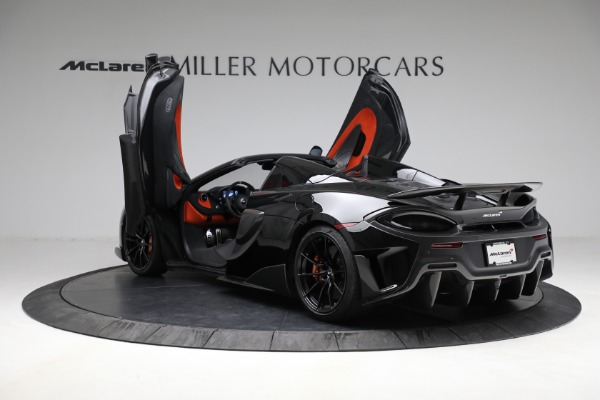 Used 2020 McLaren 600LT Spider for sale Call for price at Bentley Greenwich in Greenwich CT 06830 16