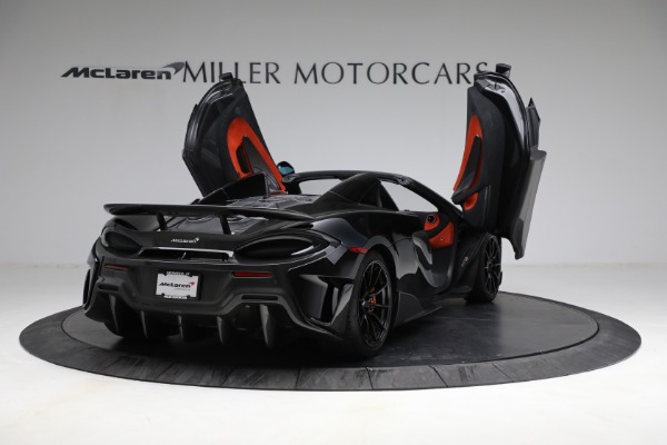 Used 2020 McLaren 600LT Spider for sale Call for price at Bentley Greenwich in Greenwich CT 06830 17