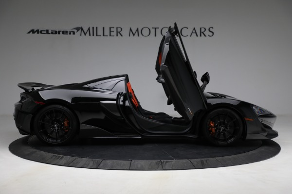 Used 2020 McLaren 600LT Spider for sale Call for price at Bentley Greenwich in Greenwich CT 06830 18