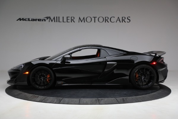 Used 2020 McLaren 600LT Spider for sale Call for price at Bentley Greenwich in Greenwich CT 06830 21