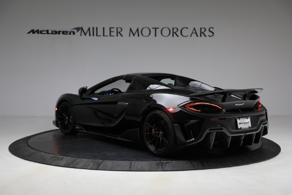Used 2020 McLaren 600LT Spider for sale Call for price at Bentley Greenwich in Greenwich CT 06830 22