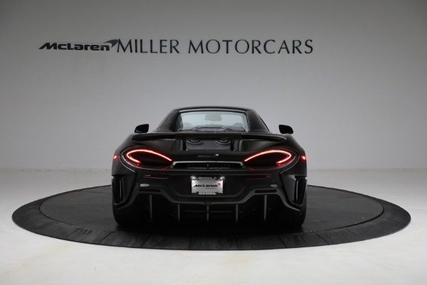 Used 2020 McLaren 600LT Spider for sale Call for price at Bentley Greenwich in Greenwich CT 06830 23